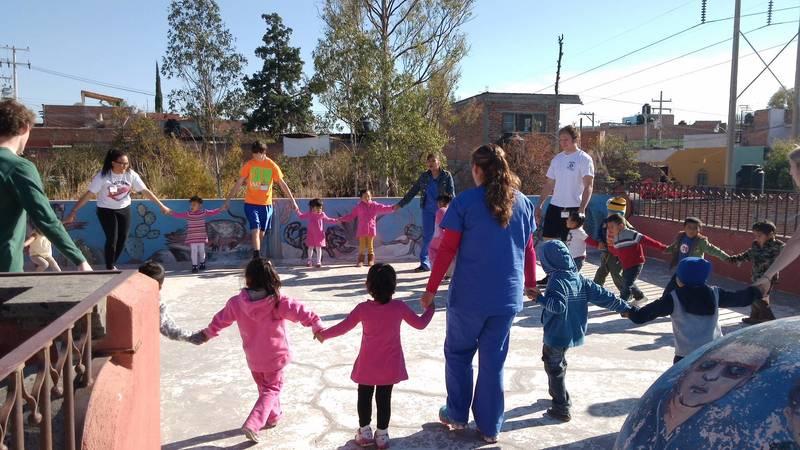 Child care volunteer