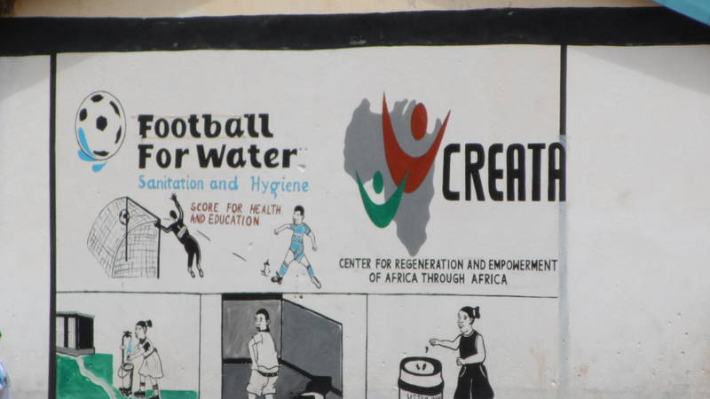 Football for Water, Sanitation and hygiene