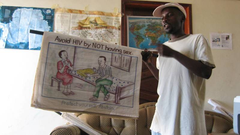 education materials for HIV prevention