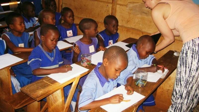 classroom teaching in a rural school