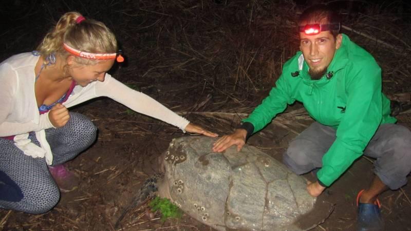 Night patrol with volunteers