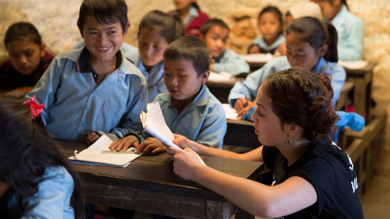 Teaching In Remote Villages