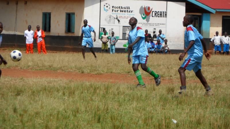 Hygiene promotion using football in schools
