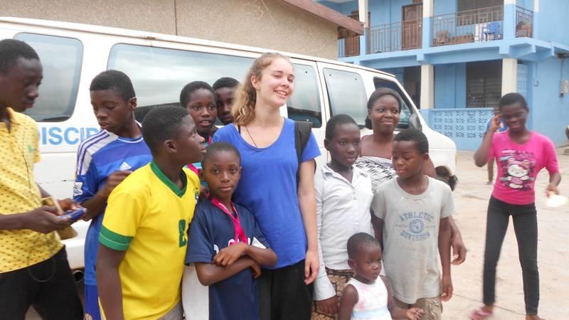 Orphanage volunteer program in Ghana