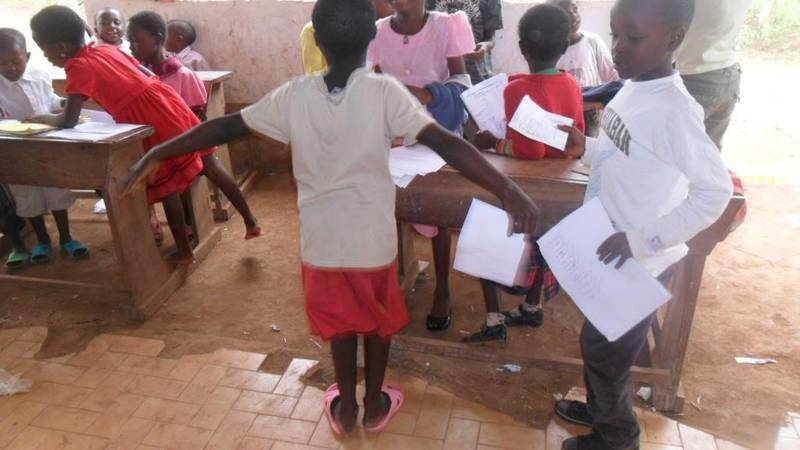 Holiday classes for orphans