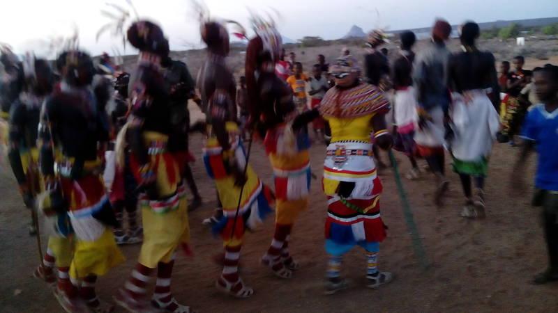 cultural event: moran dancing