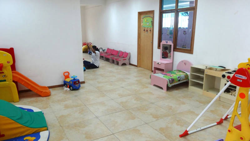 Work in a daycare