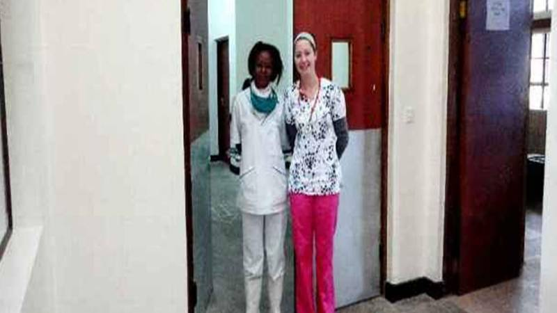 A local Nurse and medical doctor volunteer
