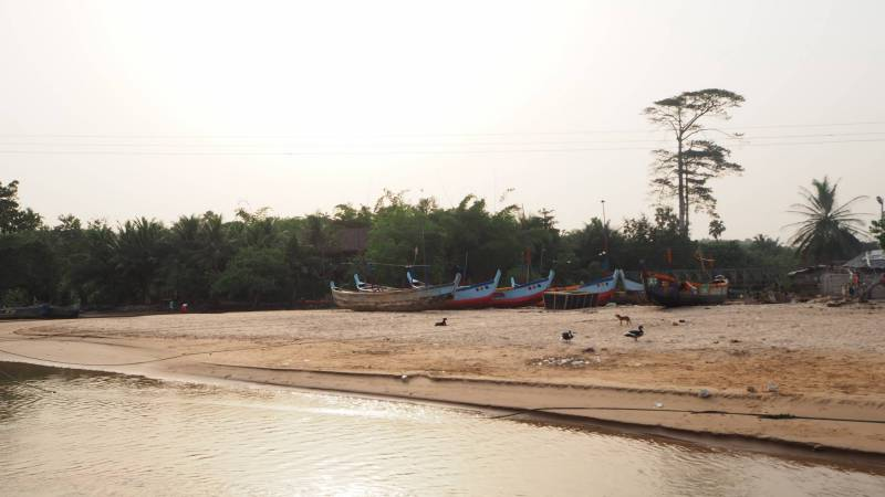 Busua, most of the most relaxing beaches
