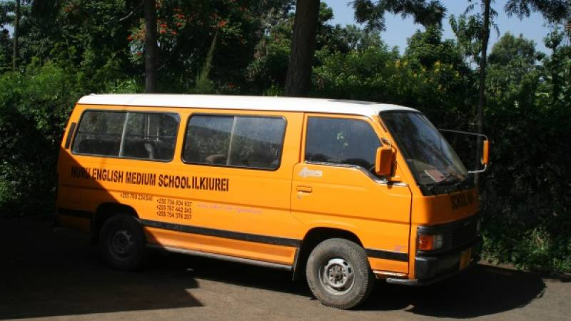 the school bus