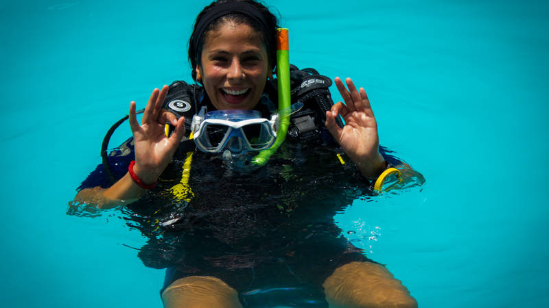 Get your PADI SCUBA certification