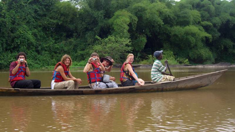 Canoe Activities in Ghana