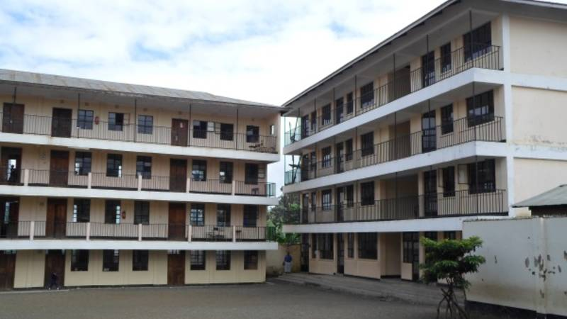 The school compund