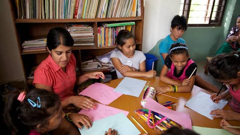 Community Education English Teaching