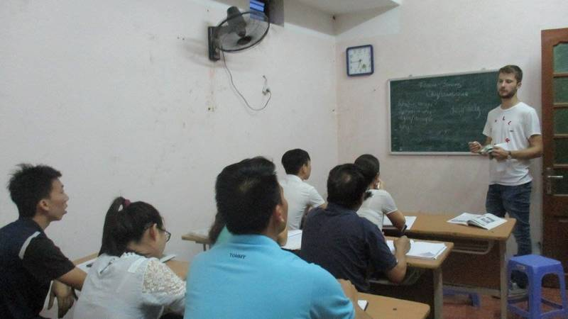 teaching English for adults