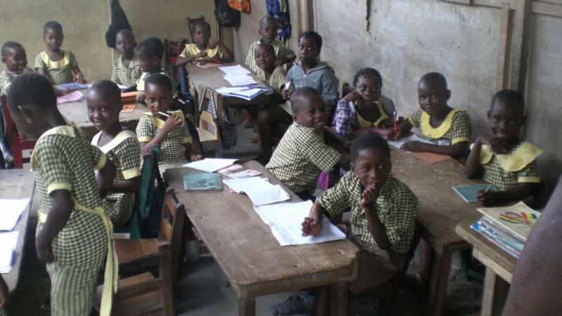 Class in Ghana