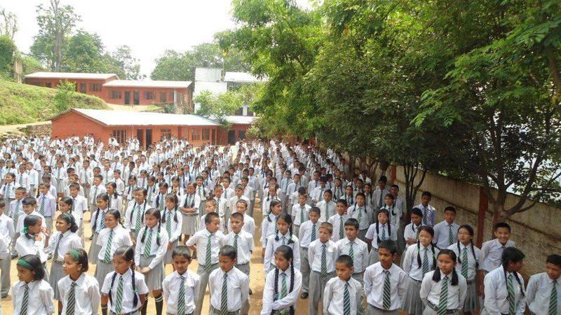 School Children Assembly