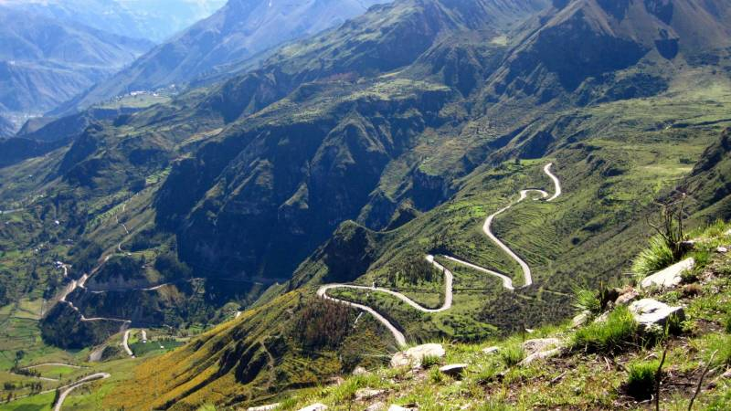 Stunning Cotahuasi scenery