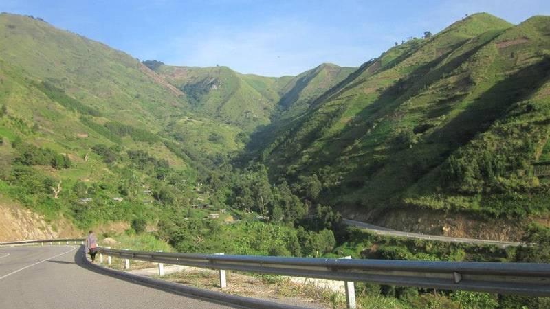 Rwenzori ecarpments