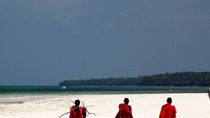 Beautiful Indian Ocean beaches