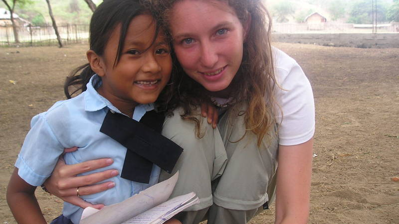 Teaching in the Andes