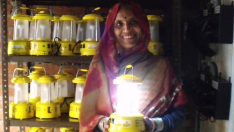 Solarlanterns for safety, health and environment