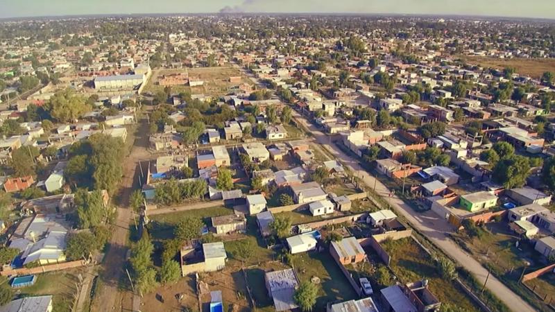 Neighbourhood (from above)