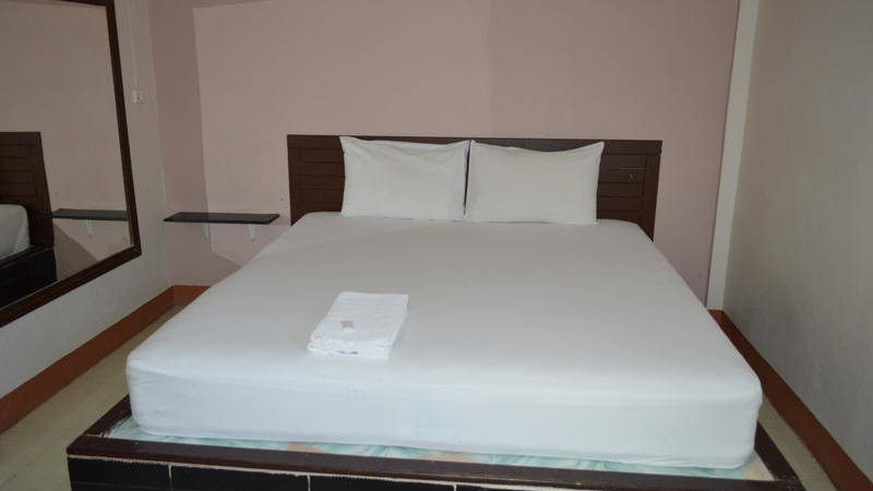 bedroom in the placement hotel