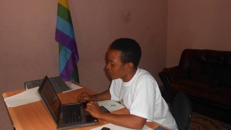 Mohamed in office