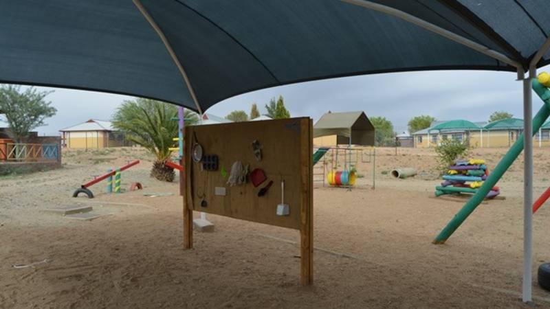Sensory board @ playground.