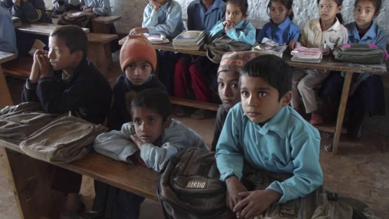 English teaching to Nepali community schools