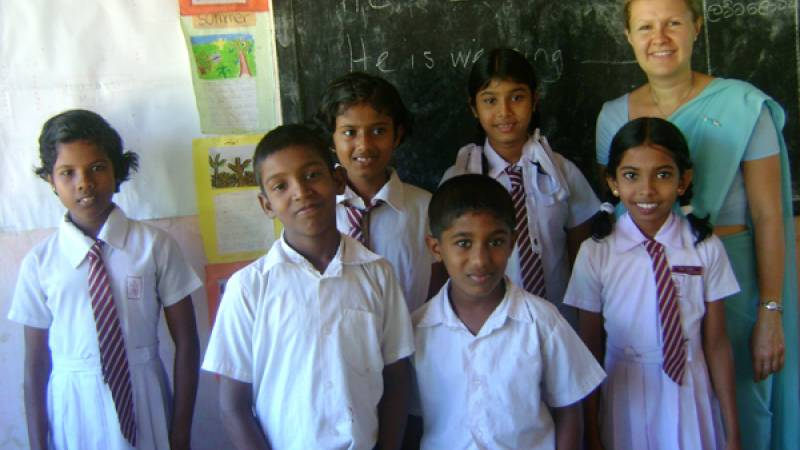 Teaching English at a Government School