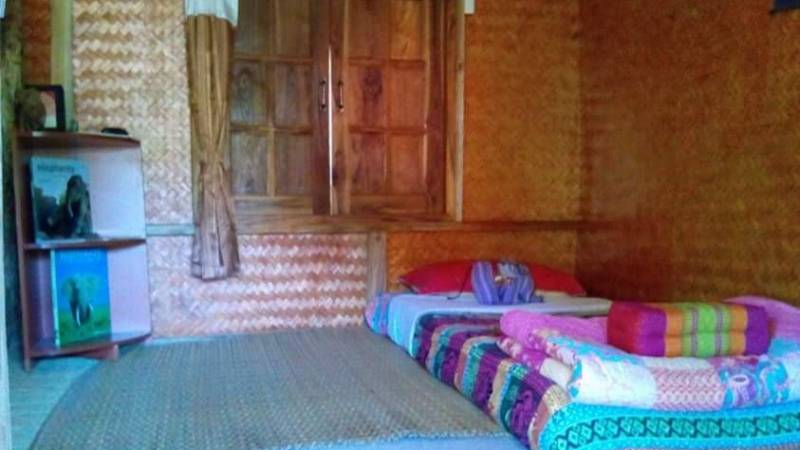 Volunteer rooms in local village home are basic