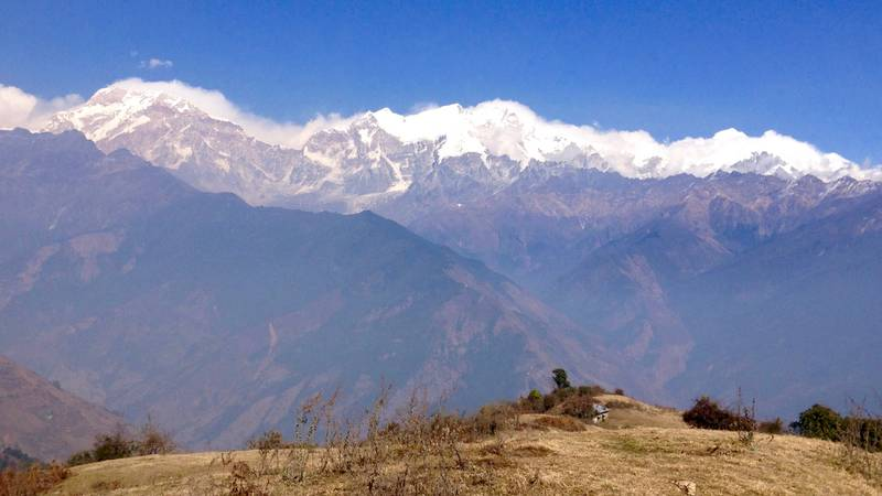 see Mountains when you are in nepal