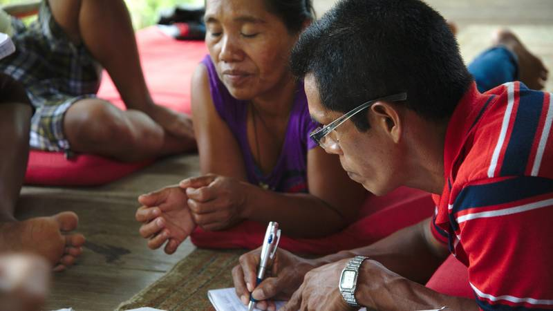 A program collaboration with an indigenous group