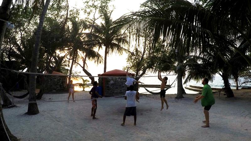 Evening Volleyball