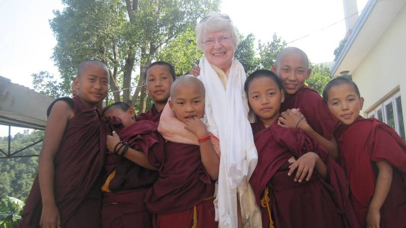 There are  volunteers placements with the Monks