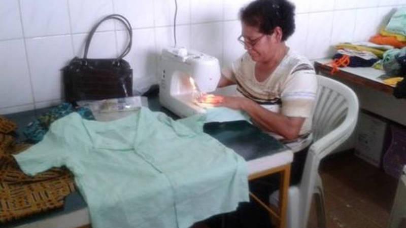 Sewing New Nickerie