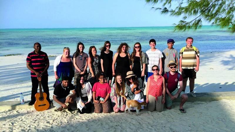 College trip to Zanzibar