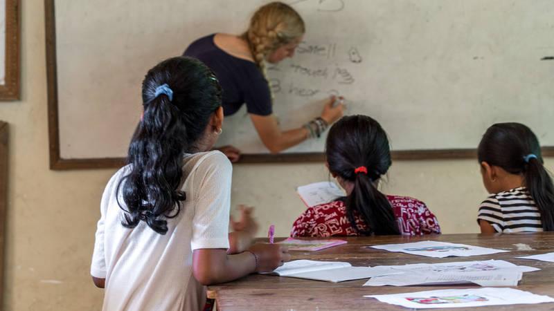 Volunteering in Primary School