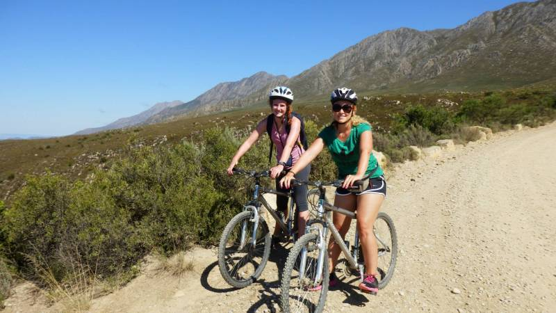 Biking the Swartberg Pass