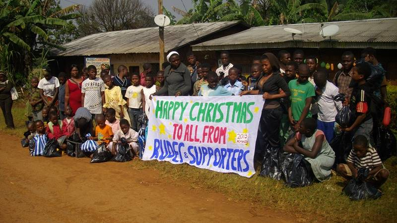 Christmas party for Orphans