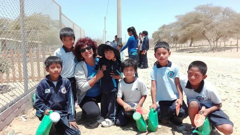 Local children getting involved