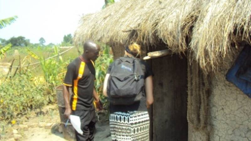 Visit family check sanitation