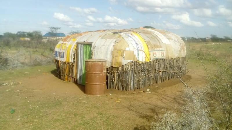 typical manyatta dwelling