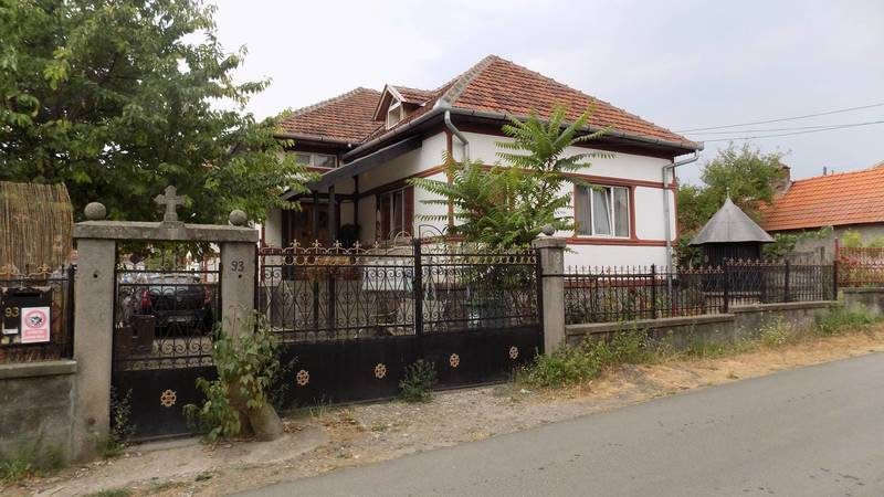 Our home in the village