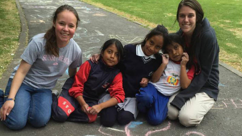 Volunteering with children and youth