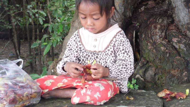 Child in Siem Reap