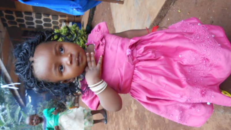 Princess on her birthday