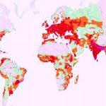Población y densidad de población